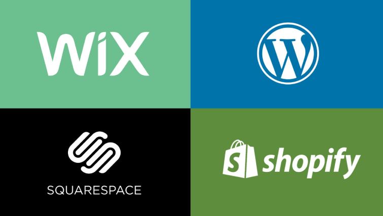 wix wordpress shopify squarespace developer