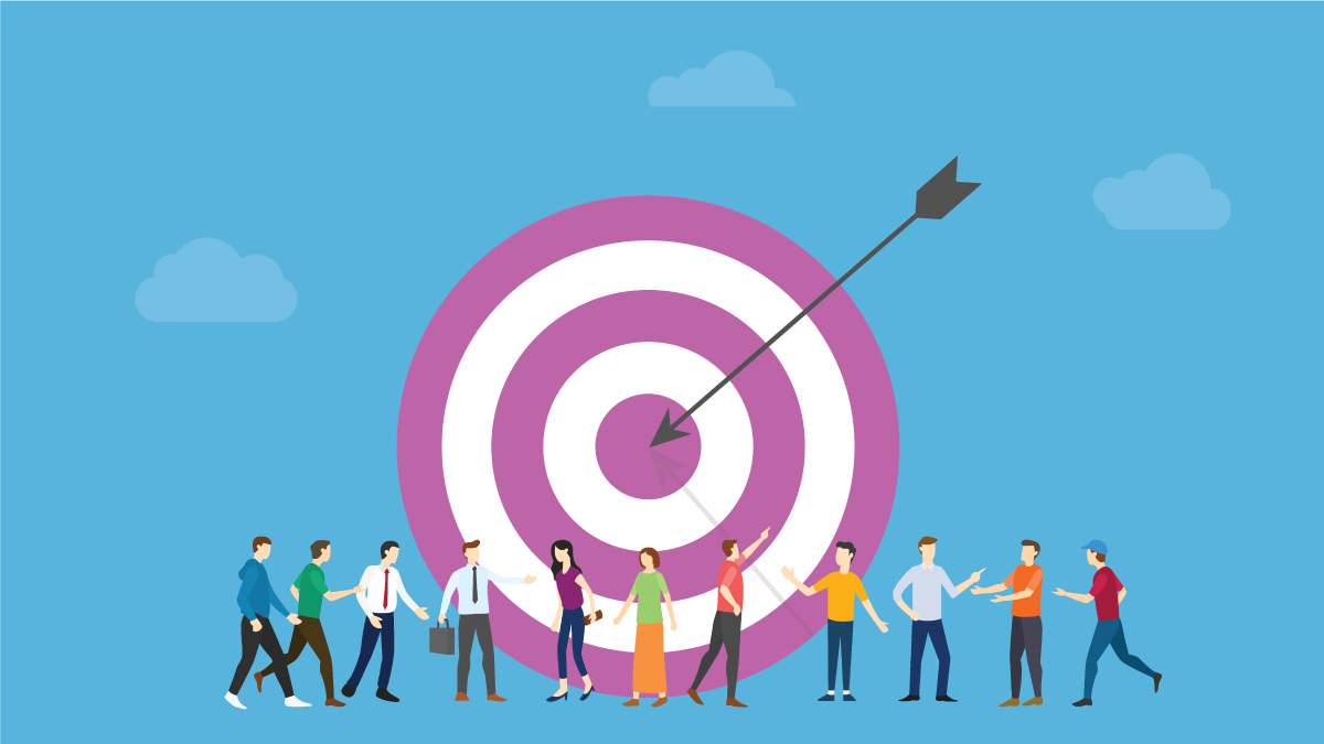 2. Retarget your audience, reframe your relevance